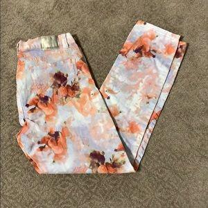 COPY - Calvin Klein printed jeans. Size 12